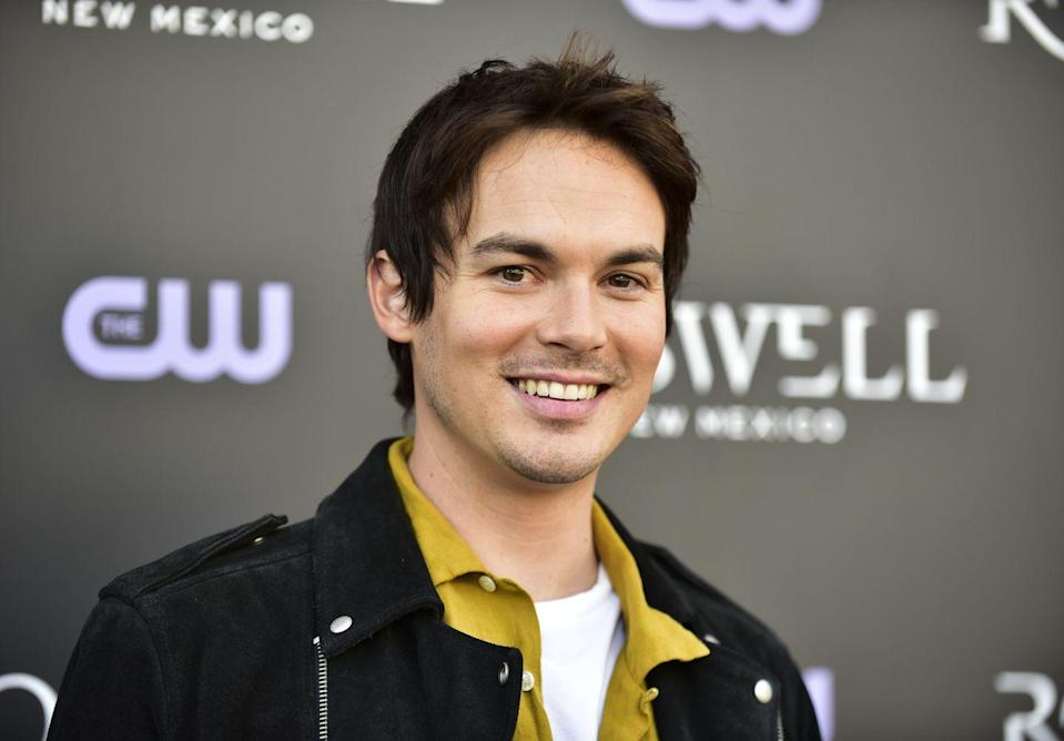 """<p>In a new interview with <em><a href=""""https://www.advocate.com/television/2019/4/19/do-you-think-you-really-know-tyler-blackburn"""" rel=""""nofollow noopener"""" target=""""_blank"""" data-ylk=""""slk:The Advocate"""" class=""""link rapid-noclick-resp"""">The Advocate</a></em>, Tyler Blackburn revealed that he is bisexual. </p><p>""""I'm queer. I've identified as bisexual since a teenager."""" he said. """"I just want to feel powerful in my own skin, and my own mind, and in my own heart.""""</p>"""