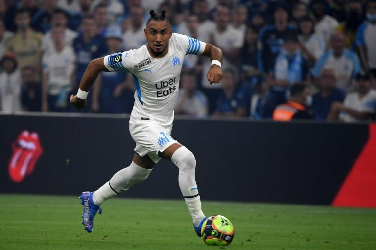 Dimitri Payet is serving a one-match ban for throwing a bottle back into the stands at Nice (AFP/Nicolas TUCAT)
