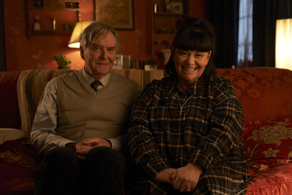 James Fleet and Dawn French are bringing back their 'Vicar of Dibley' characters. (BBC/Tiger Aspect Productions Ltd/Des Willie)