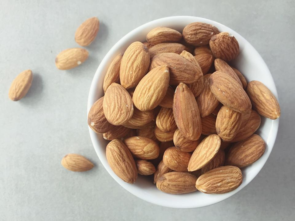 """<h1 class=""""title"""">Almonds in bowl</h1><cite class=""""credit"""">Maja Pilav/EyeEm/Getty Images</cite>"""