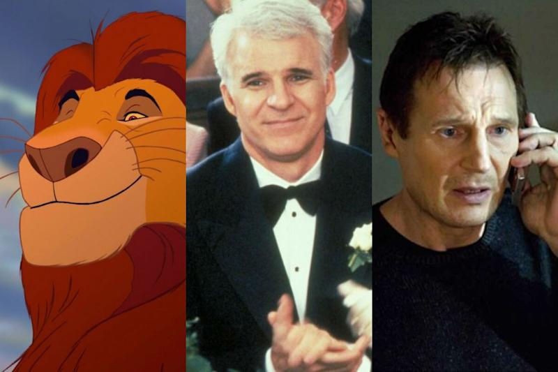 The top 'movie dad' has been revealed (Credit: Disney/Touchstone Pictures/Fox)