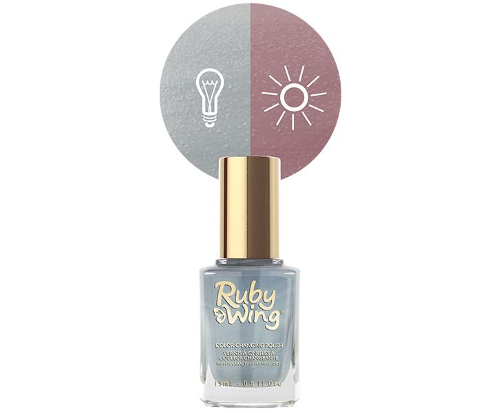 """<p>This nail polish dries to acool, chambray blue, but step intothe sun, and it quickly shifts torich copper.</p> <p>Ruby Wing Color-Changing Nail Polish in Chambray, $10; at <a rel=""""nofollow"""" href=""""https://rubywing.com/product/chambray/"""">Ruby Wing</a></p> <p></p>"""