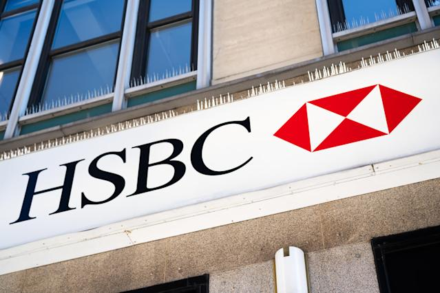 HSBC has set aside $3bn in the first quarter of 2020 to cover expected credit losses. (Alex Tai/SOPA Images/Sipa USA)