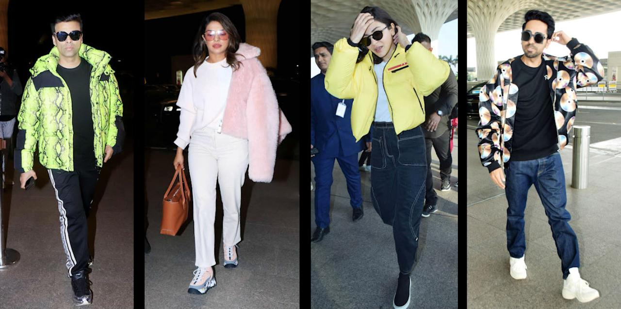 From prints to pastels, here are some of our favourite outwear outfits worn by some stylish celebrities.