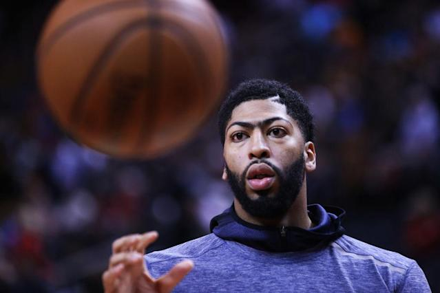 New Orleans Pelicans superstar Anthony Davis is looking for a new home. (Getty Images)