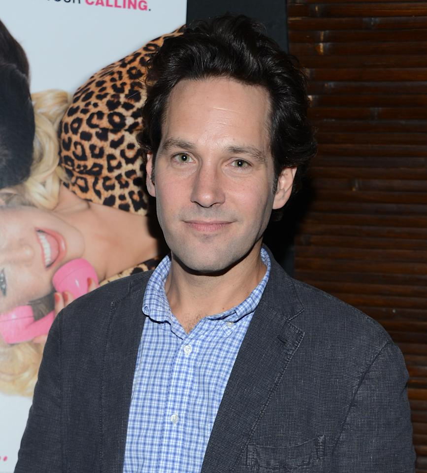 "NEW YORK, NY - AUGUST 21:  Paul Rudd attends the after party for the ""For A Good Time, Call..."" premiere at Ajna Bar on August 21, 2012 in New York City.  (Photo by Jason Kempin/Getty Images)"