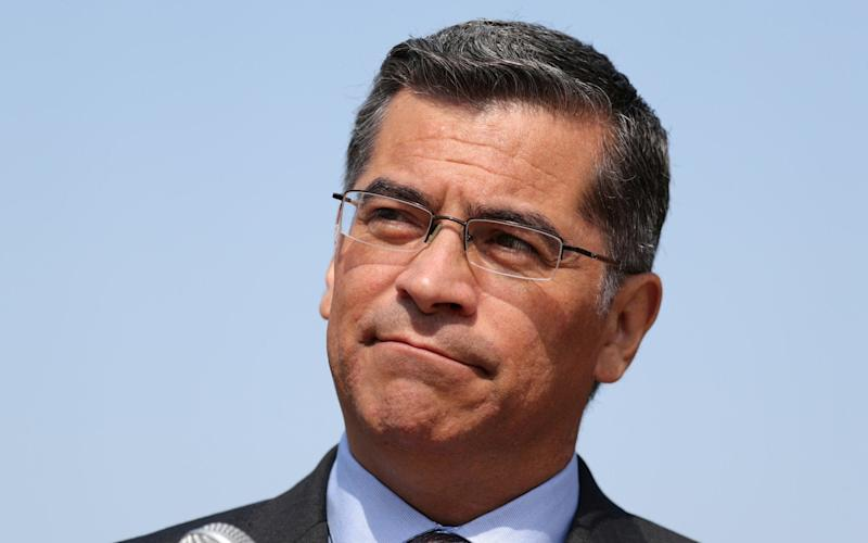 California Attorney General Xavier Becerra - REUTERS