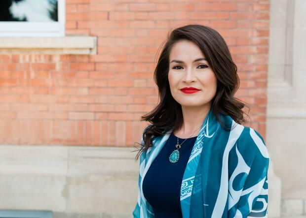Tiffany Prete, an adjunct professor at the University of Alberta, has been researching the history of residential schools on Kanai (Blood) First Nation in Alberta. She said access to private historical documents has been a challenge.  (Moonsong Photography - image credit)