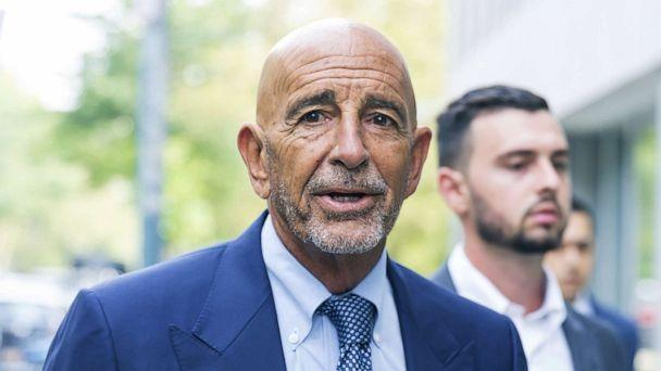 PHOTO: Tom Barrack, an advisor and supporter of former President Donald Trump, arrives to a federal courthouse for a bail hearing in Brooklyn, N.Y., July 26, 2021. (Justin Lane/EPA via Shutterstock)