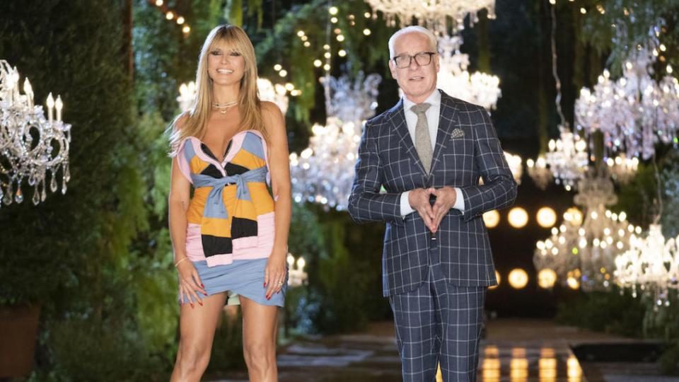 Heidi Klum and Tim Gunn are here to judge designers for your entertainment on Making The Cut Season 2. Picture: Amazon Prime Video