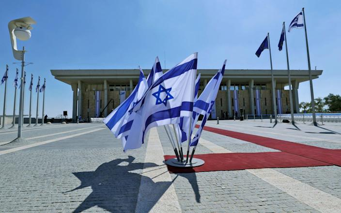 No party has a clear majority in the Knesset, Israel's parliament - GETTY IMAGES