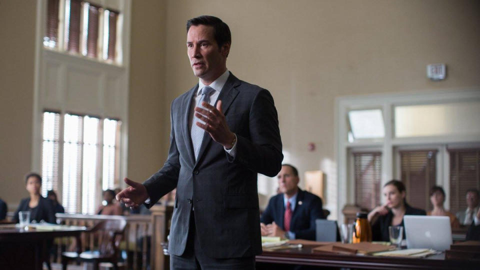 Keanu Reeves in 'The Whole Truth'. (Credit: Lionsgate)
