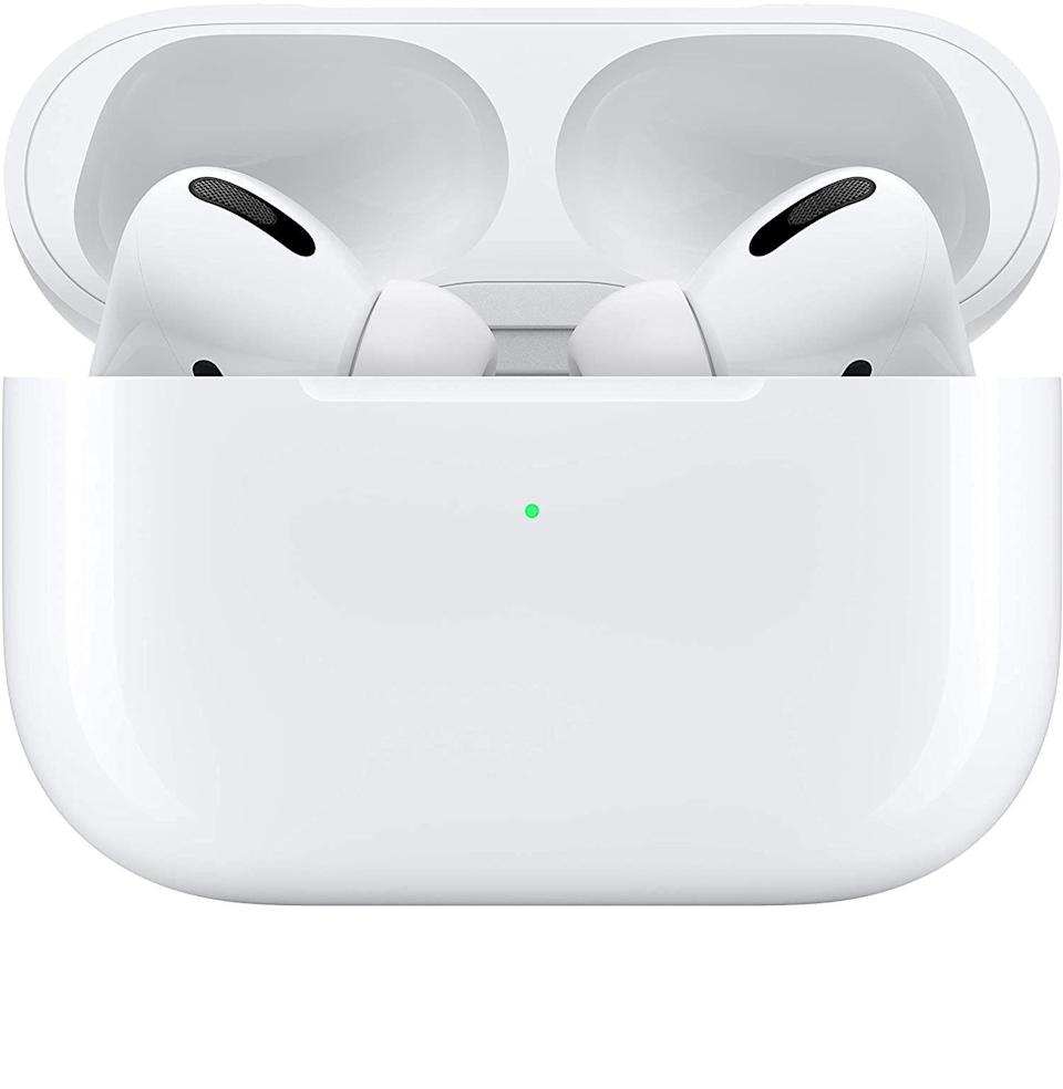 """<p><strong>Apple</strong></p><p>amazon.com</p><p><strong>$199.00</strong></p><p><a href=""""https://www.amazon.com/dp/B07ZPC9QD4?tag=syn-yahoo-20&ascsubtag=%5Bartid%7C10054.g.34787692%5Bsrc%7Cyahoo-us"""" rel=""""nofollow noopener"""" target=""""_blank"""" data-ylk=""""slk:Buy"""" class=""""link rapid-noclick-resp"""">Buy</a></p><p><del>$259.00</del> <strong>(20% off for Black Friday)</strong></p><p>For the wife who'd like to drown the sound of your Zoom calls out.</p>"""