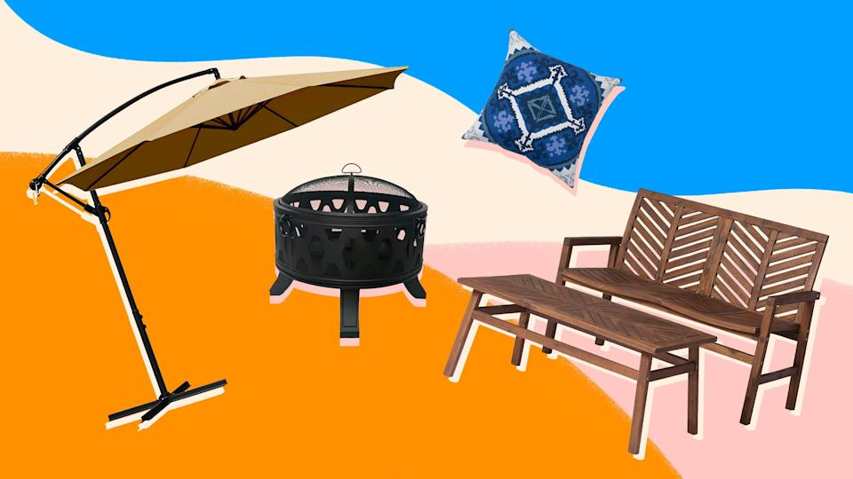 Score some major discounts on patio furniture this week.