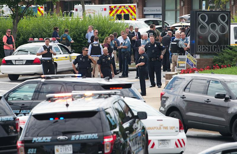 Five killed in newsroom shooting in US