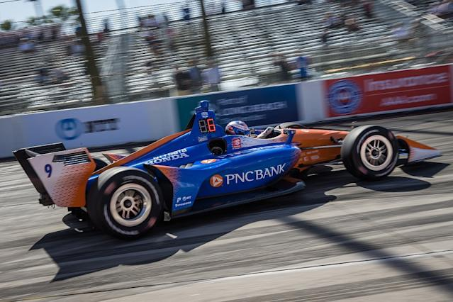 Dixon and Hunter-Reay set Long Beach pace
