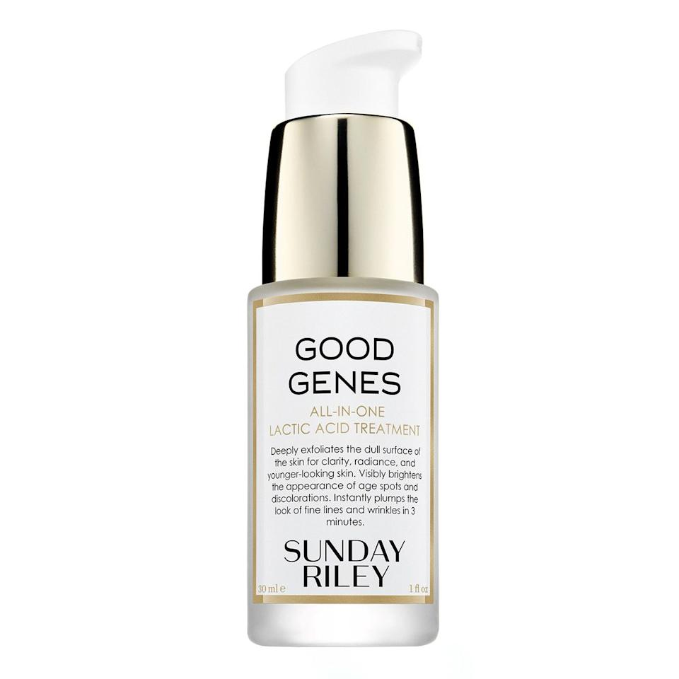 """$105, Sunday Riley Good Genes. <a href=""""https://shop-links.co/1681465611425857197"""">Get it now!</a>"""