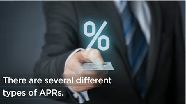 There are different APRs for different types of loans.