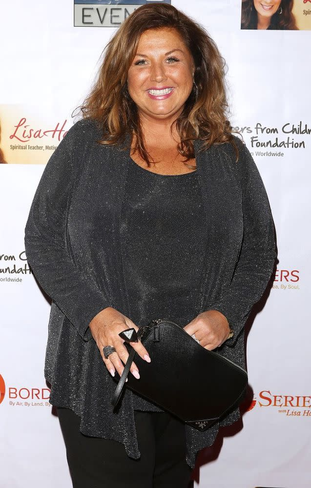 Abby Lee Miller pictured just prior to enterting prison