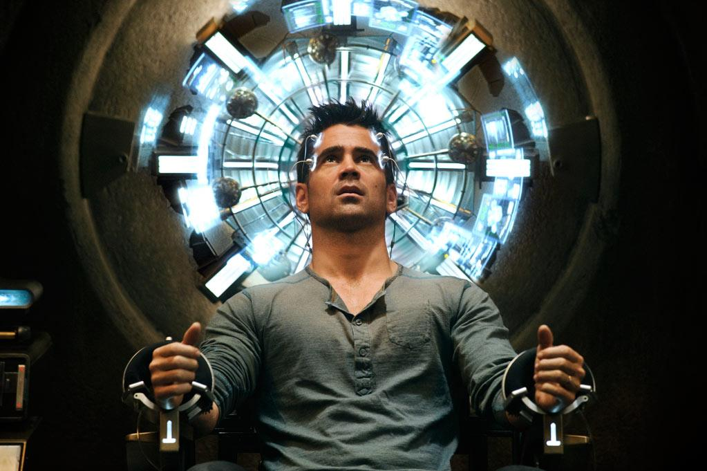 "Colin Farrell in Columbia Pictures' ""Total Recall"" - 2012"