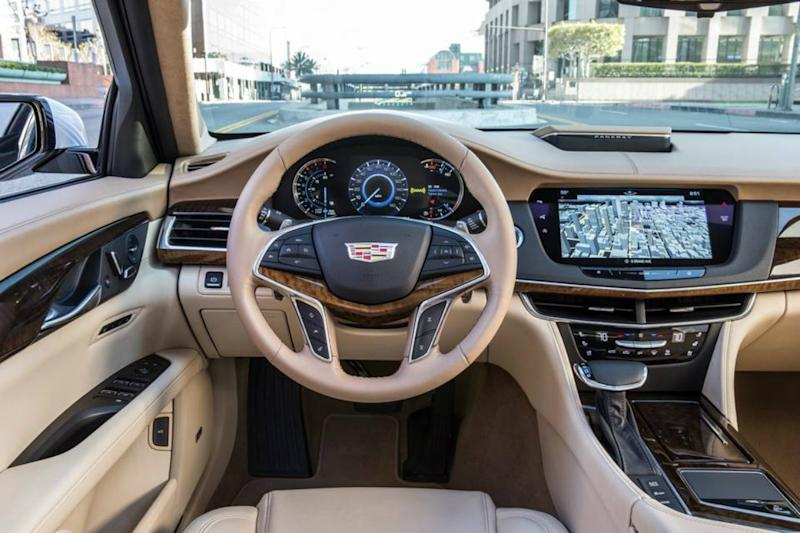 Eyes on you: Cadillac eye-tracking tech will wake you up or pull you over