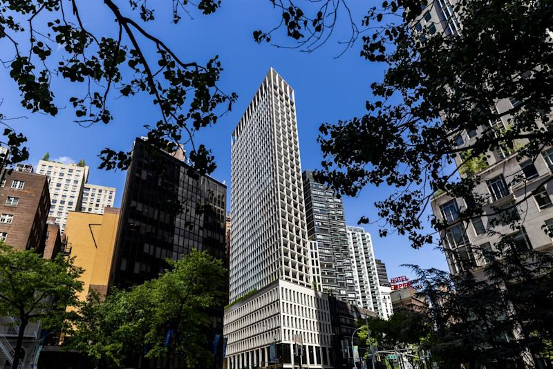 "(Bloomberg) -- Here's one advantage to selling pricey condos near, but not on, Billionaires' Row: You can tout your project as a bargain.It's a strategy that apartment landlord AvalonBay Communities Inc. is looking to as it begins marketing its first for-sale project, the Park Loggia, off Columbus Circle on West 61st Street in Manhattan.The real estate investment trust acquired the site in 2015 for $300 million, near the peak of Manhattan's high-end sales frenzy, with plans for luxury rentals and, perhaps, some condos. Since then, the borough has become saturated with both. AvalonBay studied its options and, well into construction on the 32-story project, decided the more-lucrative option was to go all-condo.The pitch is that the homes are smaller than the full-floor, museum-like spaces seeking buyers along 57th Street and across from Central Park. So they're relatively less expensive, but in the same neighborhood. Among the largest are the 1,916-square-foot (178-square-meter) three-bedroom units that begin on the 17th floor. They start at $6.58 million, or $3,431 a square foot.""We think it's priced right,"" Martin Piazzola, AvalonBay's senior vice president of development, said on recent tour of the building. ""Something around the corner is probably 50% more per square foot -- or double. You do all the math and suddenly, they're astronomical and we're attainable.""Park Views""Around the corner"" is Extell's rising Central Park Tower -- with a five-bedroom penthouse that's listed for $63 million, or $8,905 a square foot -- and Vornado Realty Trust's 220 Central Park South, where Citadel Chief Executive Officer Ken Griffin plunked down $238 million to buy America's priciest home. Across the street is 15 Central Park West, a 12-year-old property where condos are listed for resale at $16.3 million on average, data from StreetEasy show.All those developments draw some of their stratospheric pricing from their unobstructed views of Central Park. By contrast, the Park Loggia, on the corner of Broadway, offers views of those neighboring luxury buildings.The lack of a premium for views and the smaller size of AvalonBay's units ""are a powerful amenity differentiator,"" said Jonathan Miller, president of New York appraiser Miller Samuel Inc. ""Because that's not the normal product coming into that market.""Hesitant BuyersSelling condos in Manhattan has gotten tougher these days as the well-heeled take their time to sort through the sea of high-priced options. Buyers are also becoming more sensitive to carrying costs, thanks to the new tax law that limits how much of their property levies can be written off on their federal returns.At the end of 2019, there will be about 9,004 unsold condos on the market in Manhattan, and it would take nine years to clear them all at the current pace of deals, according to estimates from Miller Samuel.At the Park Loggia, named for the covered outdoor spaces that are its signature architectural flourish, 80% of the 172 condos are one- and two-bedrooms. One-bedrooms start at $1.64 million for a 782-square-foot apartment on the third floor with an additional 296 square feet of outdoor space, according to offering plans filed with the state attorney general's office. Two-bedrooms start at $2.785 million.The priciest unit is a four-bedroom penthouse with 2,391 square feet inside and 500 square feet of outdoor space, offered at $10.995 million.AvalonBay waited until now, close to the building's September completion date, to begin selling units, on the theory that buyers in a slowing market won't commit to big deals unless they can view a finished product, Piazzola said. The company doesn't expect to see proceeds from sales until the third or fourth quarter, executives said on a conference call in February.""It's not like nothing is selling,"" Piazzola said. ""If you're delivering a product that people want at the right price point, it will move.""To contact the reporter on this story: Oshrat Carmiel in New York at ocarmiel1@bloomberg.netTo contact the editors responsible for this story: Debarati Roy at droy5@bloomberg.net, Christine Maurus, Daniel TaubFor more articles like this, please visit us at bloomberg.com©2019 Bloomberg L.P."