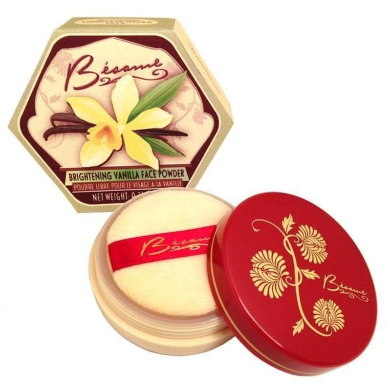 """<p><strong>besame</strong></p><p>besamecosmetics.com</p><p><a href=""""https://go.redirectingat.com?id=74968X1596630&url=https%3A%2F%2Fbesamecosmetics.com%2Fproducts%2Fvanilla-brightening-powder&sref=https%3A%2F%2Fwww.redbookmag.com%2Fbeauty%2Fg36983460%2Fmakeup-for-latinas%2F"""" rel=""""nofollow noopener"""" target=""""_blank"""" data-ylk=""""slk:Shop Now"""" class=""""link rapid-noclick-resp"""">Shop Now</a></p><p><a href=""""https://go.redirectingat.com?id=74968X1596630&url=https%3A%2F%2Fbesamecosmetics.com%2F&sref=https%3A%2F%2Fwww.redbookmag.com%2Fbeauty%2Fg36983460%2Fmakeup-for-latinas%2F"""" rel=""""nofollow noopener"""" target=""""_blank"""" data-ylk=""""slk:Bésame Cosmetics"""" class=""""link rapid-noclick-resp"""">Bésame Cosmetics</a> was created by cosmetics historian Gabriela Hernandez. At age 12, she immigrated to the U.S. from Buenos Aires, Argentina, and in 2004 she developed the beauty brand of her dreams. According to <a href=""""https://go.redirectingat.com?id=74968X1596630&url=https%3A%2F%2Fbesamecosmetics.com%2Fpages%2Fabout-us&sref=https%3A%2F%2Fwww.redbookmag.com%2Fbeauty%2Fg36983460%2Fmakeup-for-latinas%2F"""" rel=""""nofollow noopener"""" target=""""_blank"""" data-ylk=""""slk:the company website"""" class=""""link rapid-noclick-resp"""">the company website</a>, Hernandez """"wanted Bésame to bring romance back into the makeup industry, allowing women to feel excited and passionate about their beauty rituals again.""""</p>"""