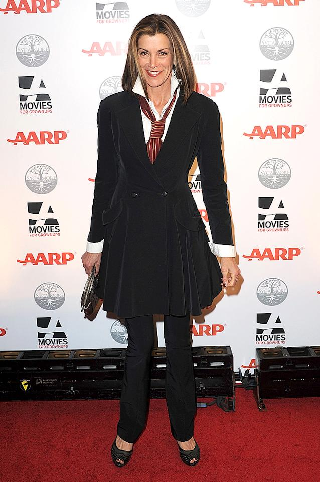 """Hot in Cleveland"" star Wendie Malick is definitely in the target AARP demographic at age 61, but she certainly doesn't look it! (2/6/2012)"