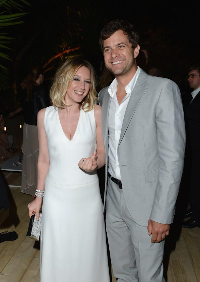 CANNES, FRANCE - MAY 17:  Actors Ludivine Sagnier and Joshua Jackson attend Women In Film celebration with The IFP, Calvin Klein Collection & euphoria Calvin Klein at the 65th Cannes Film Festival at Villa St George on May 17, 2012 in Cannes, France.  (Photo by Andrew H. Walker/Getty Images for Calvin Klein)