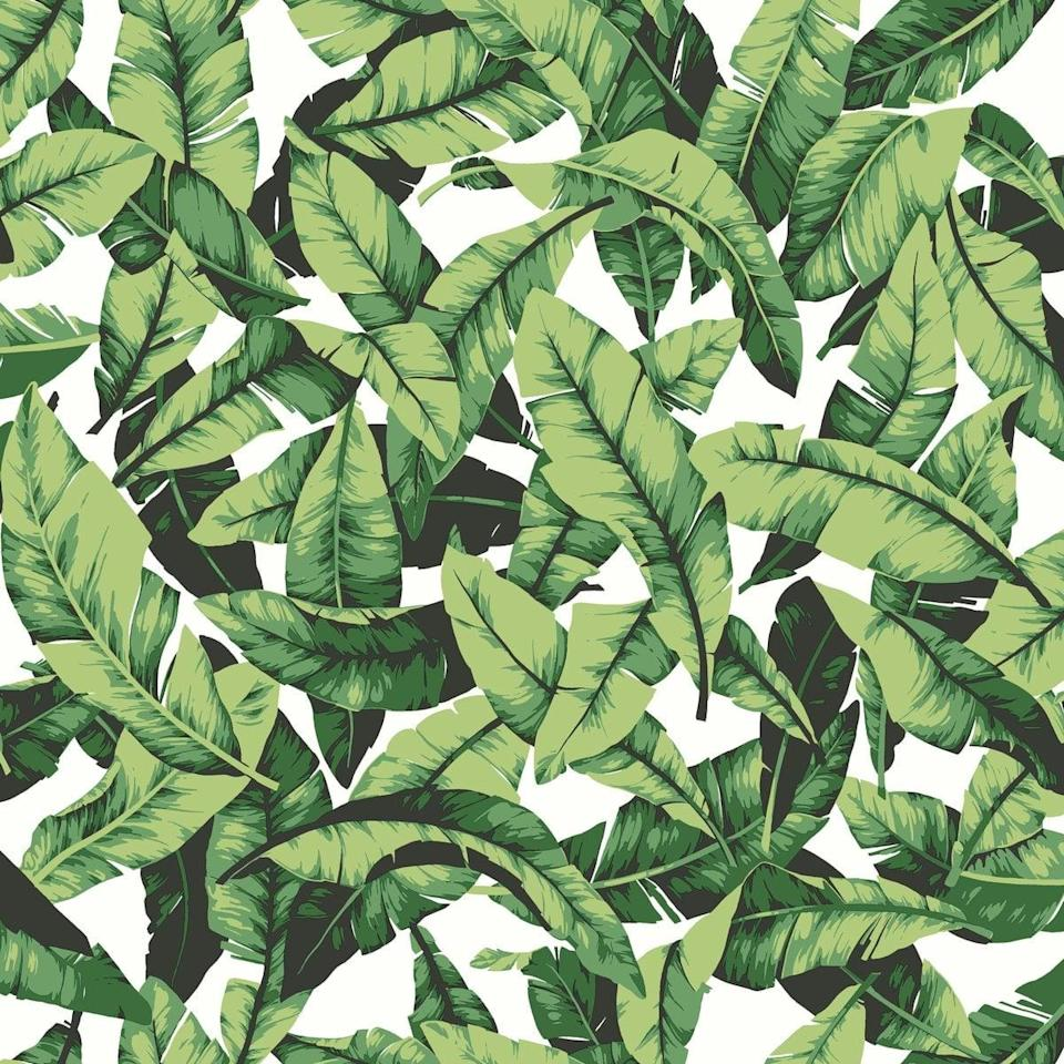 <p>With this <span>RoomMates Tropical Palm Leaf Peel and Stick Wallpaper</span> ($25, originally $29), it's summer all year round.</p>