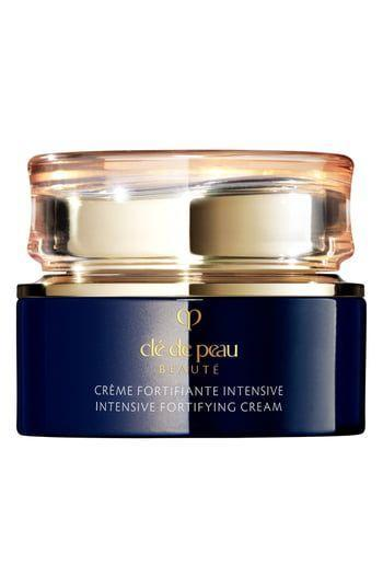 """<p><strong>Clé de Peau</strong></p><p>nordstrom.com</p><p><strong>$180.00</strong></p><p><a href=""""https://go.redirectingat.com?id=74968X1596630&url=https%3A%2F%2Fshop.nordstrom.com%2Fs%2Fcle-de-peau-beaute-intensive-fortifying-cream%2F5363316&sref=https%3A%2F%2Fwww.marieclaire.com%2Fbeauty%2Fg34015100%2Fanti-aging-moisturizers%2F"""" rel=""""nofollow noopener"""" target=""""_blank"""" data-ylk=""""slk:SHOP IT"""" class=""""link rapid-noclick-resp"""">SHOP IT</a></p><p>This cream is perfect for anyone who feels like their skin looks dull first thing in the morning. Before going to sleep, slather on this moisturizer and go to bed knowing that you'll wake up with a glow. While you sleep, it works to restore bounce to your skin.</p>"""