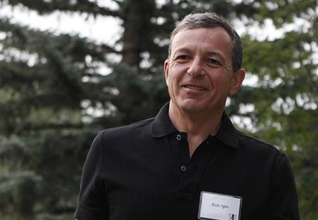 CEO of The Walt Disney Company Bob Iger attends Allen & Co Media Conference in Sun Valley