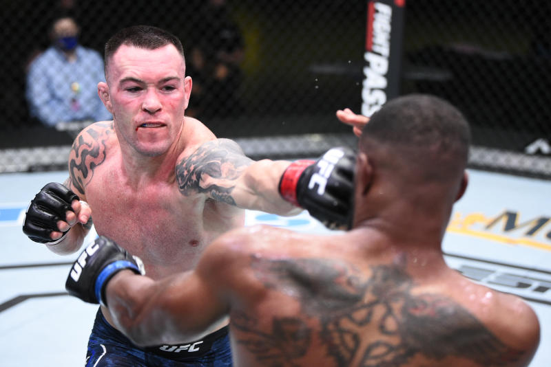 UFC news: Colby Covington TKOs Tyron Woodley at UFC Vegas 11