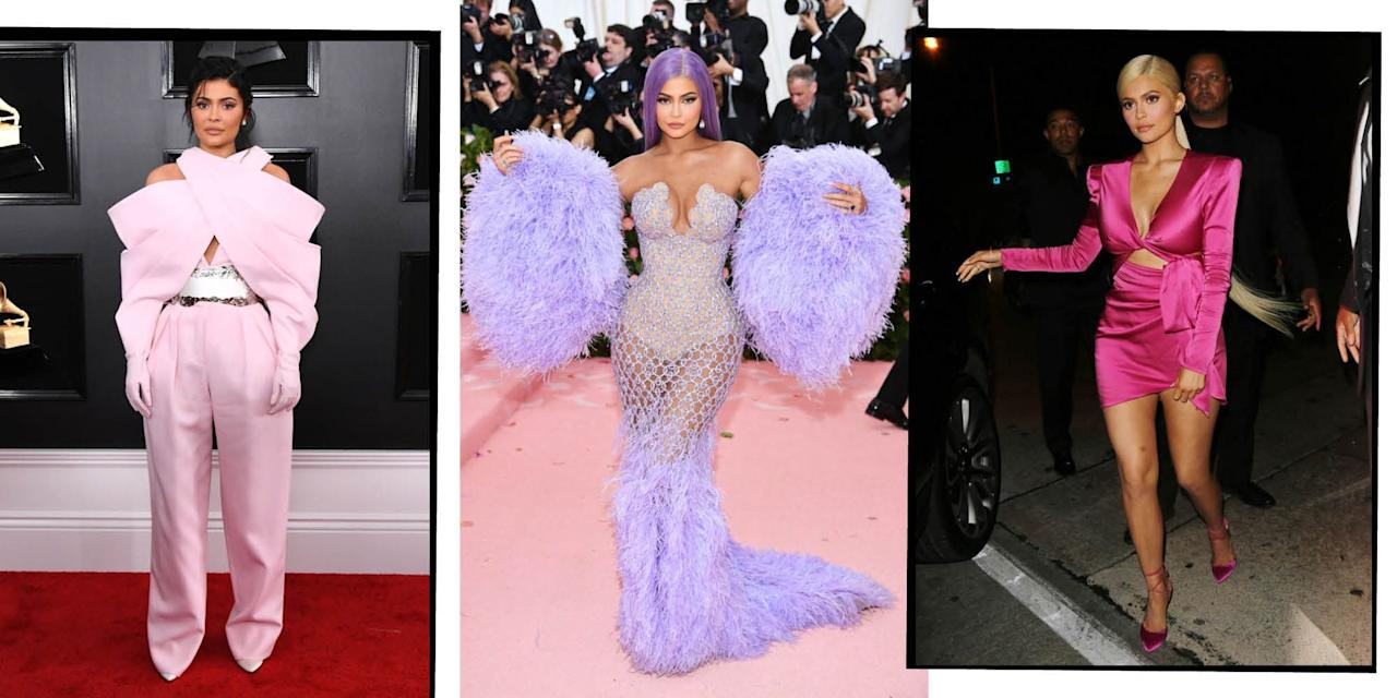 "<p>Keeping up with the youngest Kardashian Jenner's wardrobe is no easy feat, from her <a href=""https://www.elle.com/uk/fashion/a27381217/kylie-kendall-jenner-matching-met-gala/"" target=""_blank"">Met Gala extravaganzas</a> to her <a href=""https://www.elle.com/uk/fashion/celebrity-style/a28656804/kylie-jenners-italian-holiday-wardrobe/"" target=""_blank"">holiday ensembles</a>, the <a href=""https://www.elle.com/uk/life-and-culture/culture/a29855769/kylie-jenner-cosmetics-sold-shares-coty/"" target=""_blank"">make-up mogul</a> and <a href=""https://www.elle.com/uk/life-and-culture/a26851634/kylie-jenner-stormi-websters-talking/"" target=""_blank"">mother-of-one</a> knows what she's doing. Here, we take a look at the now-22 year-old's best looks...</p>"