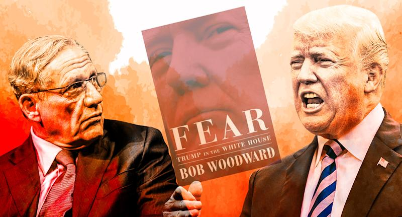 Woodward defends book sourcing amid new Trump attacks: 'These people are not anonymous to me'