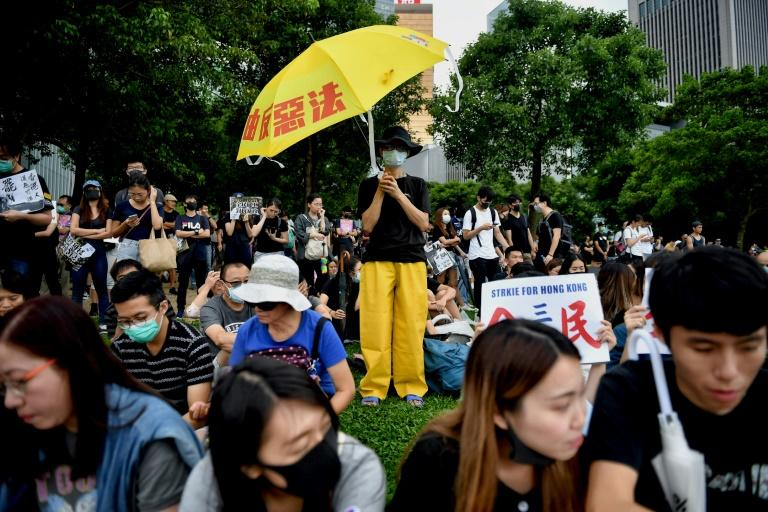 Hong Kong anti-government protesters have shown no sign of backing down despite increasingly violent confrontations with police