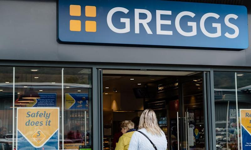 Greggs to cut jobs as high street lays bare Covid financial hit