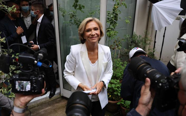 Regional election candidate for the presidency of the Ile-de-France region Valerie Pecresse - Getty