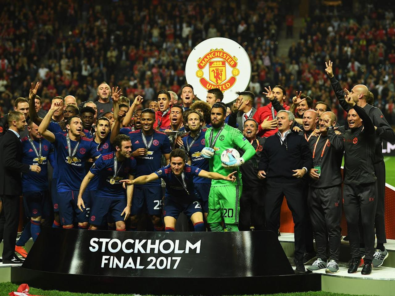 Manchester United's raw emotion displays the city's unity to perfection as Europa League win lifts an unfair burden