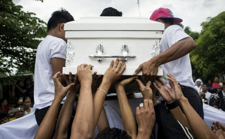 Police have reported killing more than 3,800 people in anti-drug operations since Philippine President Rodrigo Duterte assumed office 15 months ago