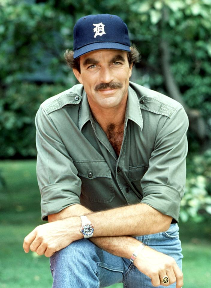 "<b>Thomas Magnum, ""<a href=""/magnum-p-i/show/31922"">Magnum, P.I.</a>""</b> — With his Hawaiian shirts, baseball caps, and winning smile, Magnum was an American icon, even though he was also a kept man. The Hawaiian guesthouse he lived in and the red Ferrari he drove were both owned by the famous author for whom he handled security, but the job also allowed him enough free time to do private investigation work on the side. It was thanks to this character that Selleck's mustache became a thing unto legend."