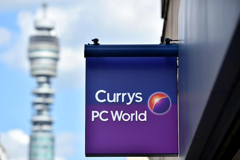 The breach hit customers of Currys PC World: AFP/Getty Images