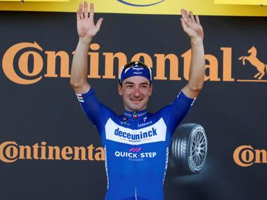 Tour de France 2019: Elia Vivianni speeds to fourth-stage win in Nancy as teammate Julian Alaphilippe retains overall lead