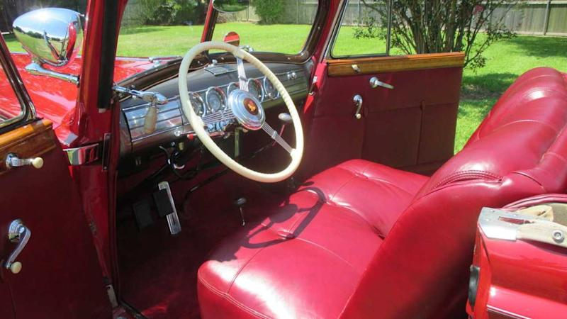 Ultra-Rare 1938 Packard Twelve Victoria Heads To Auction
