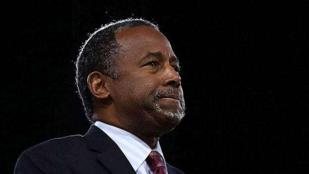 PHOTO: FILE PHOTO: Ben Carson speaks at CPAC 2016 March 4, 2016 in National Harbor, Maryland. (Alex Wong/Getty Images)