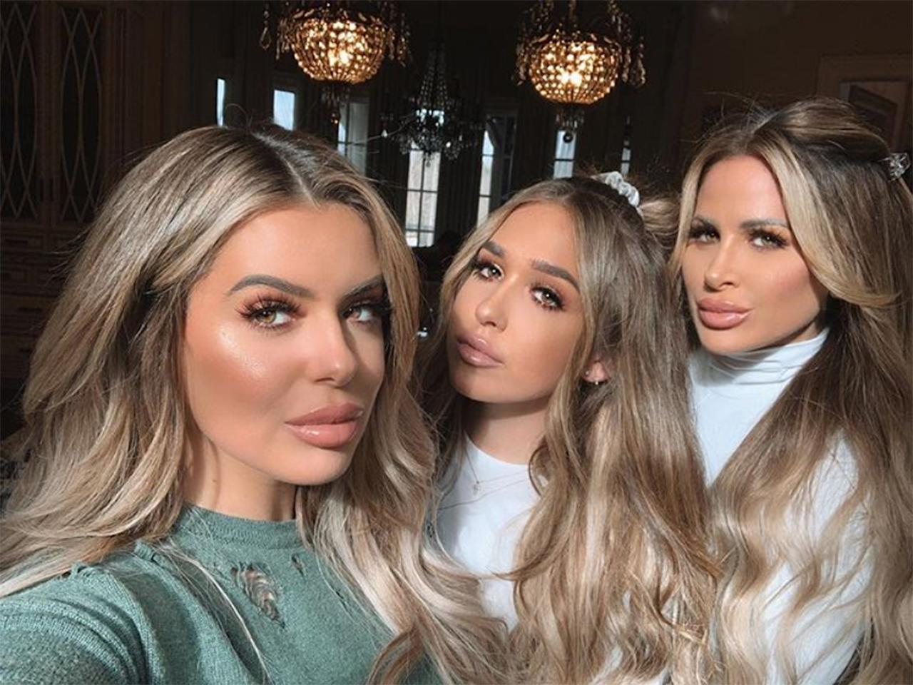 """At least, if Brielle's March 2019 Insta caption was to be believed. """"We went to the plastic surgeon and asked for the 3 for 1 special,"""" <a rel=""""nofollow"""" href=""""https://www.instagram.com/p/BvK2X9ZFy5x/"""">she wrote</a>."""
