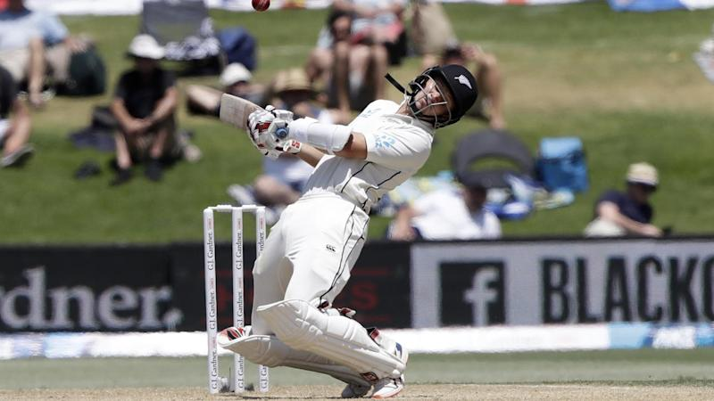 New Zealand's BJ Watling has frustrated England bowlers on the fourth day of the first Test