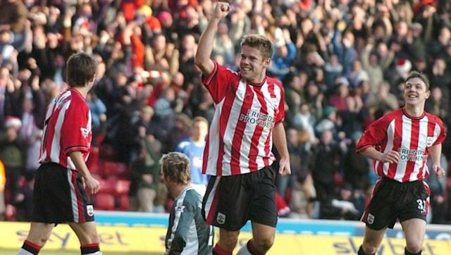 <p>After four games as a youth player at Blackburn Rovers, Beattie moved to Southampton in 1998 aged 20. </p> <br><p>After an injury-hit start with the Saints, the former Accrington boss netted 68 times and was the highest English goalscorer during the 2002-03 season with 23 goals.</p> <br><p>Premier League moves to Everton and Stoke City were not as prolific, but Beattie was awarded Everton's Goal of the Season in in 2006 on his way to 91 strikes in the English top-flight.</p>