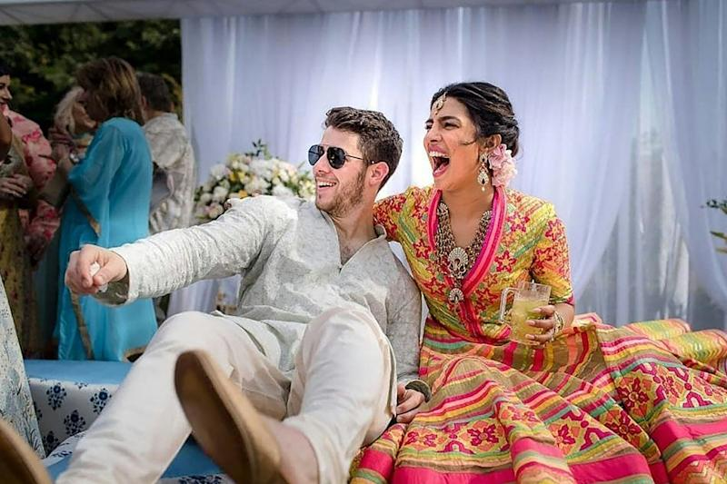 Dismissed: Priyanka Chopra has responded to a recent article on her wedding to Nick Jonas: AFP/Getty Images