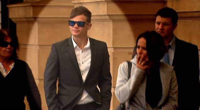 Michael Haverland is accused of killing his younger brother in a car crash. Photo: 7News.